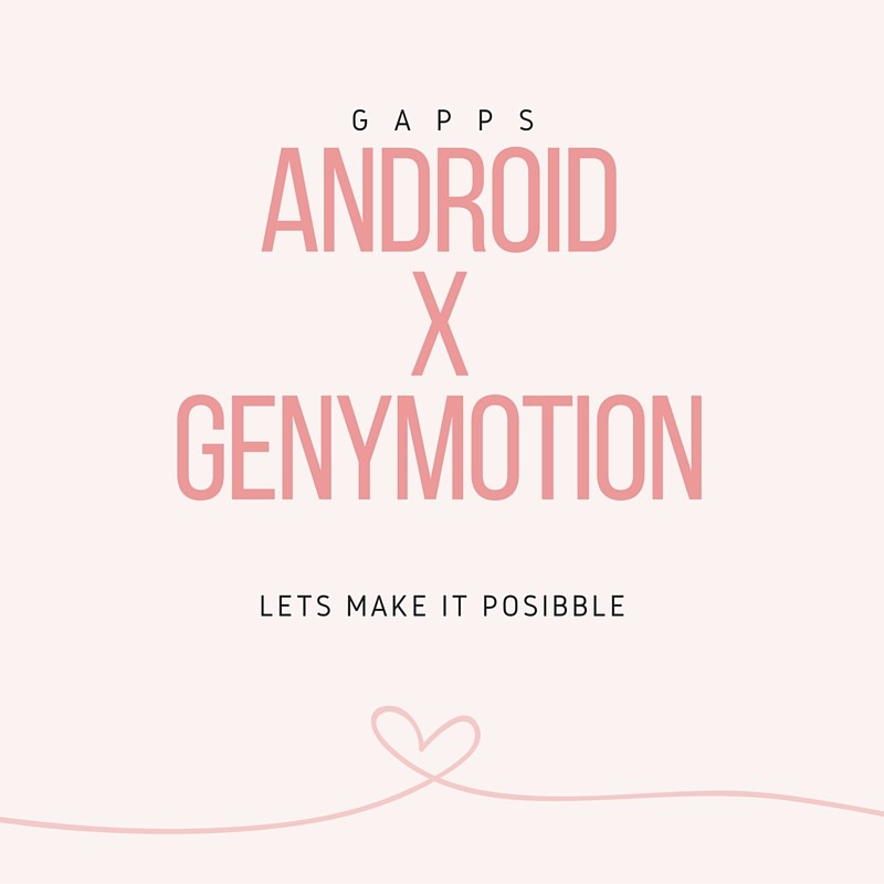 Android 6.0 Genymotion 安裝Google Services