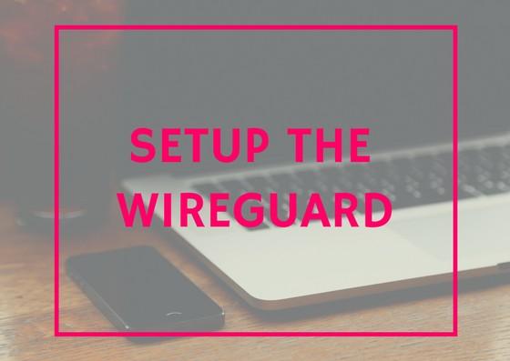 Ubuntu setup Wireguard